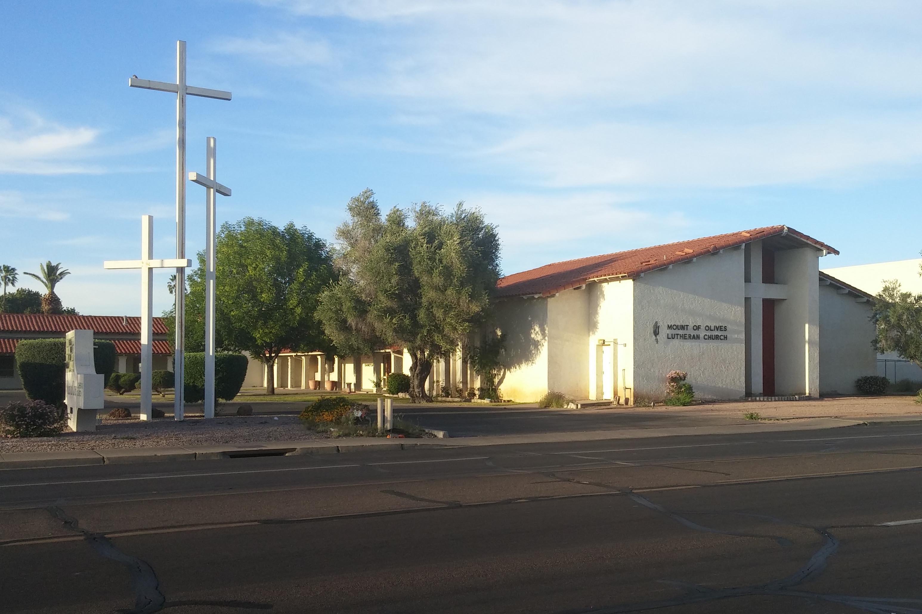 Mount of Olives Lutheran, Phoenix, AZ (Exterior)