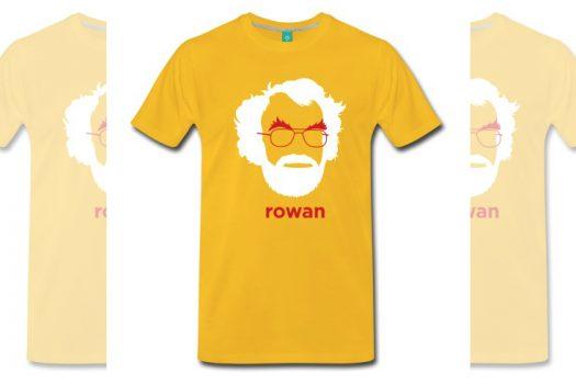 Photo of a Rowan Williams t-shirt