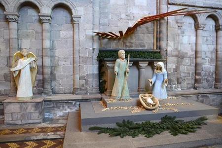 Photo of nativity scene in Hereford