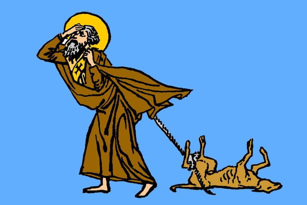 Picture of St Simeon the Holy Fool
