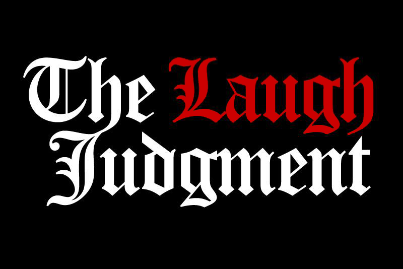 Graphic for the Laugh Judgment