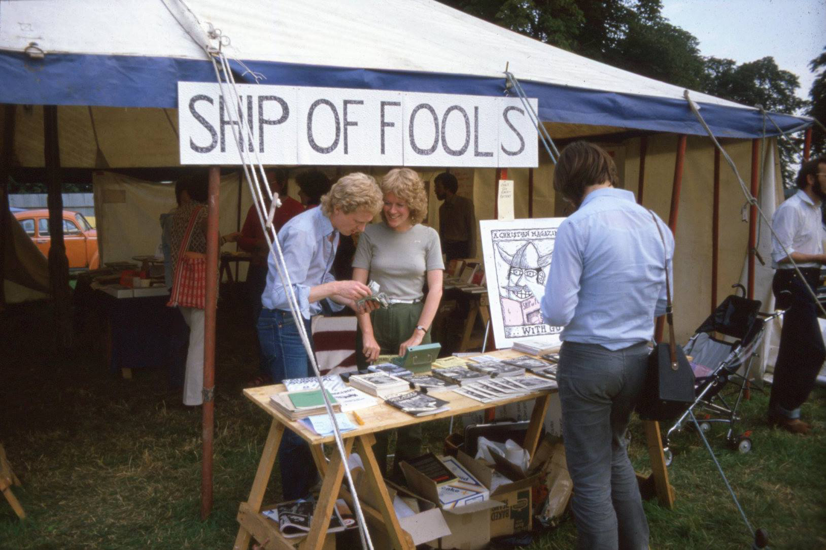 Ship of Fools on sale at Greenbelt, 1982