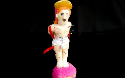 St Sebastian pin cushion