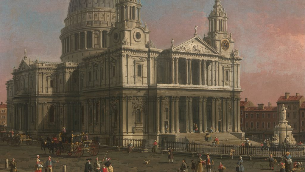 St Paul's Cathedral by Canaletto