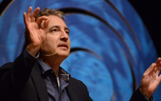 Photo of Brian Greene by Luiz Munhoz/Fronteiras do Pensamento